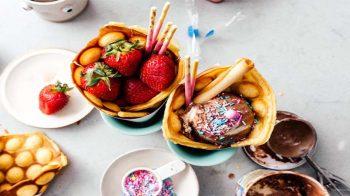 """Various Ways to Eat """"Boba"""""""